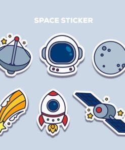 custom diecut stickers printing